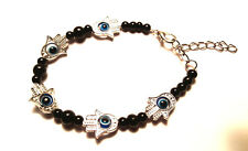 Greek Evil Eye Bead Bracelet