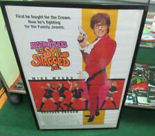 Austin Powers Poster New 1999 Rare Vintage Collectible Oop Flag