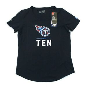 Women's Under Armour Tennessee Titans NFL Combine Tee (1310753-415) Blue - S