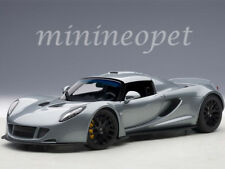 AUTOart 75402 HENNESSEY VENOM GT SPYDER 1/18 DIECAST MODEL CAR SILVER