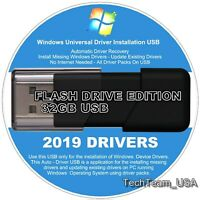 2019 Windows Driver USB Install Update Any Drivers Windows XP Vista 7 8 8.1 10