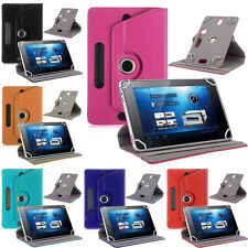 Hot 360° Folio Leather Case Cover Stand For Android Tablet PC 7