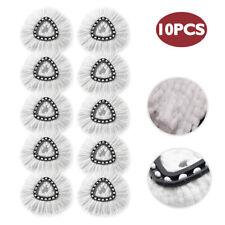 Mop Head Replacement Fit for OCedar Microfiber Spin Mop Refill - 10PCS