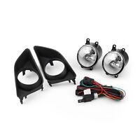 Front Bumper Luz De Niebla+Grilles+Wiring Harness Para Toyota Corolla 2007-2010