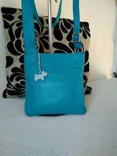 Radley Ladies Leather Mini Tourquise Shoulder, Cross Body Hand Bag #24