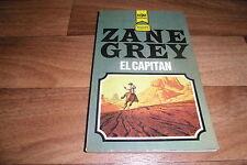 Zane Grey -- EL CAPITAN // Heyne Western Classics Taschenbuch  # 2715 / 1969