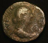 FAUSTINA SESTERTIUS IMPERIAL ROMAN COIN  - VERY GOOD CONDITION