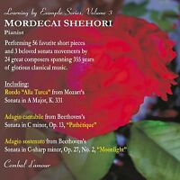 Mordecai Shehori, Piano. Learning by Example Series, Vol. 3