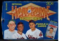 1983 Donruss Hall of Fame Heroes Baseball - Pick A Player