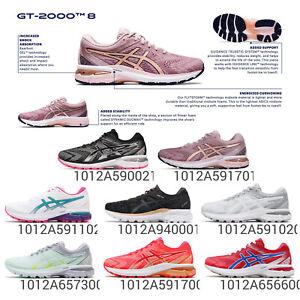 Asics GT-2000 8 Overpronation Gel Women Road Running Marathon Shoes Pick 1