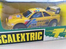 Scalextric SCX 7303 TT Peugeot 405 Amarillo | BNIB | Stunning
