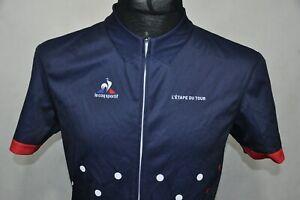 """Tour De France Le Coq Sportif """"Etape Du Tour"""" Jersey size L"""
