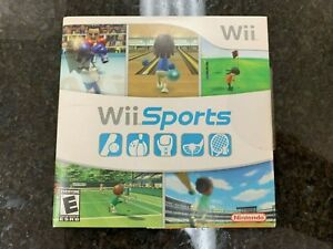Wii Sports Nintendo Wii GameIn Sleeve Game Tested Working