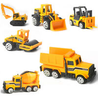 6 Types Model Engineering Car Set Construction Vehicle Diecast Alloy Kid Toys