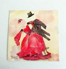 Leanin Tree Valentine's Day Love Greeting Card Flowers Multi Color R54