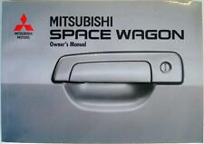 MITSUBISHI Space Wagon - Car Owners Handbook - 1998 - #ODLE99E2, #BL99/01/0099