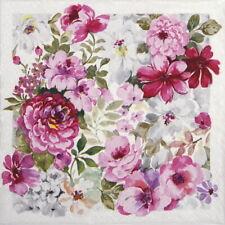4x Paper Napkins for Decoupage Craft Paper Napkin - Grand Flourishing