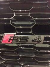 Original Audi RS4 Vorne Schwarz Abzeichen