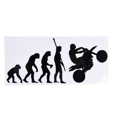 Human Evolution Motorcycle Car Stickers Personalized Vinyl Reflective Decals^~^