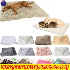 Dog Cat Pet Comfy Bed Mat Cushion Sleeping Mattress Pillow Winter Warm Blanket