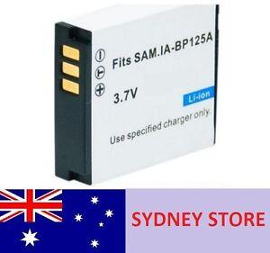 2PC BP-125A BP125A Battery Samsung HMX-Q100PP Q100TN Q100TP Q100UN Q100UP Q10BN