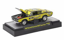 M2 MACHINES AUTO-THENTICS MOONEYES 1968 PLYMOUTH BARRACUDA HEMI SS 17-56 (A+/A)