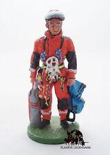 Figurine Del Prado plomb Pompier Tenue Intervention en Hauteur Allemagne 2003