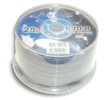 100-Pak =ACRO CIRCLE (by Optodisc)= =WHITE INKJET= Mini DVD-R for Camcorders