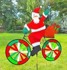 Whirligig Wind Chime Garden Santa Claus Gartenwindrad