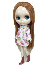 Blythe Outfit Handcrafted Dress + boots costume basaak doll # 200