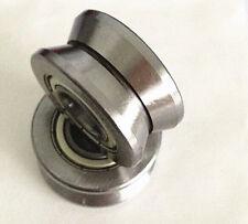 1pc LV202-41 V Groove 15*41*20mm Sealed Ball Track Roller Guide Vgroove Bearing