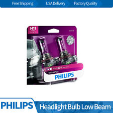 H11VPB2 Philips 2PCS Headlight Light Bulbs Low Beam For 2010-2011 Cadillac STS