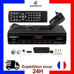 Décodeur Boîtiers Tuner TNT HD Récepteur Enregistreur Terrestre Son Image TV FR