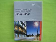 CD NAVIGATION MERCEDES BENZ AUDIO 50 APS 2009 A B C CLC CLK G GL M R VIANO NTG 2