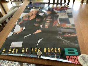 Original 1993 Signed SNAP ON Racing Poster - large size