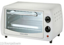 Black And Decker Medium Sized 220 Volt 9-Liter 220V 240V Toaster Oven (NON-USA)