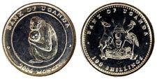 100 SHILLINGS 2004 SCIMMIA MONKEY (TIPO 2) UGANDA Fdc Unc §210