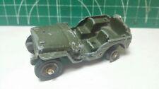 Jeep Willis Dinky toys 80b vintage old corgi matchbox majorette cij