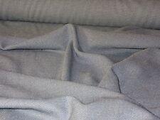 tissu polycoton gris anthracite  chiné style vichy  en 150 cm de large au mètre