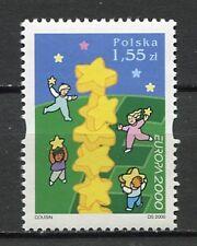 36047) POLAND 2000 MNH** Europa 1v. Scott# 3519