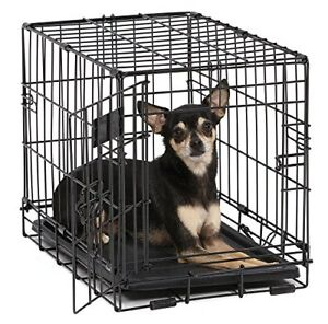 Indoor Bunny Rabbit Cage Crate Kennel Small Pet Dog Single-Door Metal Portable