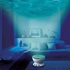 Home Decor Ocean Daren Waves Led Night Light Projector Lamp With Speaker