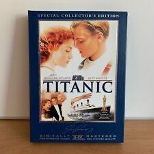 Titanic (1997) Special Collector's Edition DVD, 2005, 3-Disc Set! THX. DiCaprio