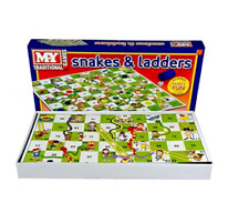 Snakes and Ladders Traditional Childrens & Family Board Game KidsToy TY57