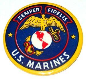 1945 UNITED STATES MARINES WORLD WAR 2 II US USA pin button pinback military