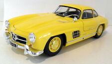 Véhicules miniatures jaunes pour Mercedes 1:18