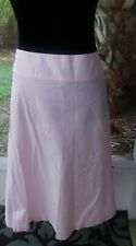 Gap Skirt Size 18 Pink 100%  Cotton Made in Sri Lanka