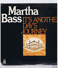 LP (NEW) MARTHA BASS IT'S ANOTHER DAY'S JOURNEY (GOSPEL)