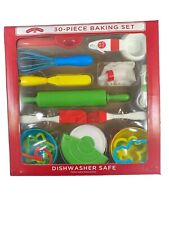 30-Piece Baking Set Holiday Time Dishwasher Safe Great For Kids and Daily Use