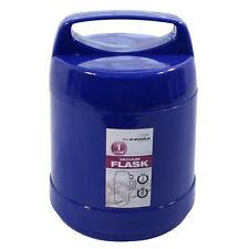 1l Litro Frio Caliente Comida Flask Camping almuerzo Vidrio Forrada Hilos vacío Thermos